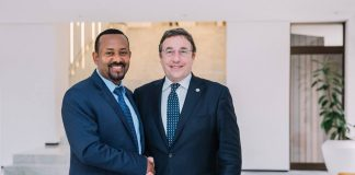 Prime Minister Dr. Abiy Ahmed met with Mr. Achim Steiner, United Nations Development Programme Administrator and his delegation today (December 18), in which, the latter commended the ongoing reforms in Ethiopia.