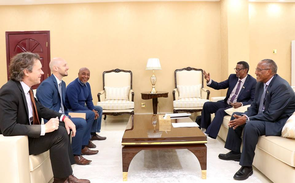 Somaliland President Receives Head of ICRC Delegation - Horn
