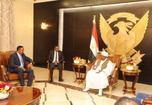 Dr. Workneh Delivers Premier's Message to President Omar al-Bashir of Sudan