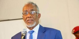 Somaliland Foreign Affairs and International Co-operation Minister Yasin Mohammed Hiir. PHOTO| COURTESY