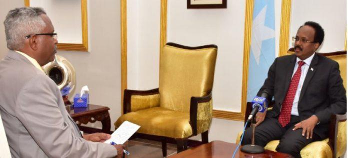 """Eritrea Television interview with Somalia President Mohamed Abdullahi Mohamed """""""