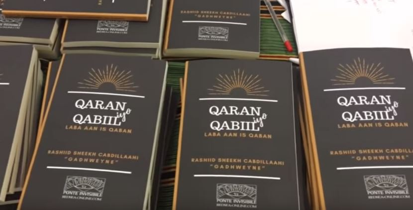 Written in Somali and entitled Qaran iyo Qabiil ( Nation and Clan)