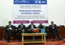 Professor Bulhan attended Heritage Institute of Public Studies Forum for Ideas held in Djibouti several weeks ago