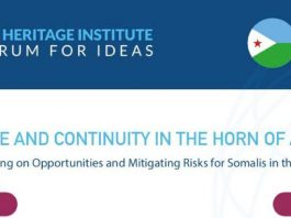Annual Heritage Institute Forum to be Held in Djibouti