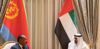 Crown Prince of Abu Dhabi Receives President of Eritrea