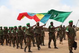 Ethiopian Defense Forces under AMISOM flag but not mandated by AU