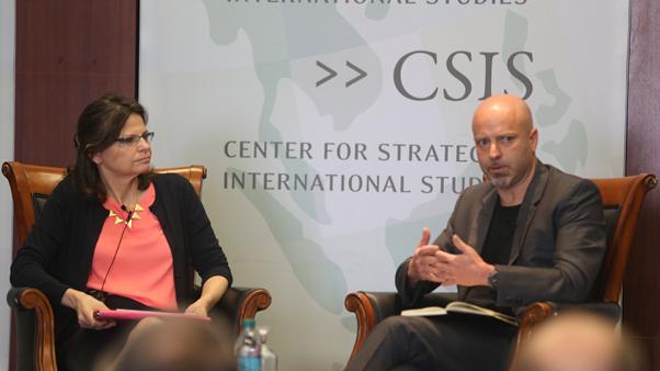 Matt Bryden at the Center for Strategic and International Studies (CSIS Photo)