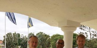 Somaliland largest opposition party Waddani chairman Abdirahman Mohamed Abdilahi AKA  Irro meets with Swedish Ambassador to Somalia Andreas von Uexkull Swedish