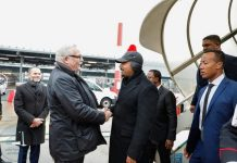 Ethiopian PM Dr. Abiy Ahmed arrives in Rome