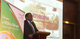 Ethiopian Ambassador to Qatar, Metasebia Tadesse held a brief session with Qatari Businessmen organized by the Ethiopian Embassy in Doha.( January 18)