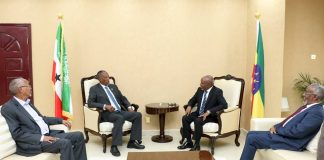 Somaliland president Muse Bihi Abdi received Ethiopia New Consul general Amb Shemsudin Ahmed at Presidential Palace in Hargeisa.