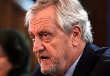 The Special Representative of the UN Secretary-General on Somalia, Nicholas Haysom