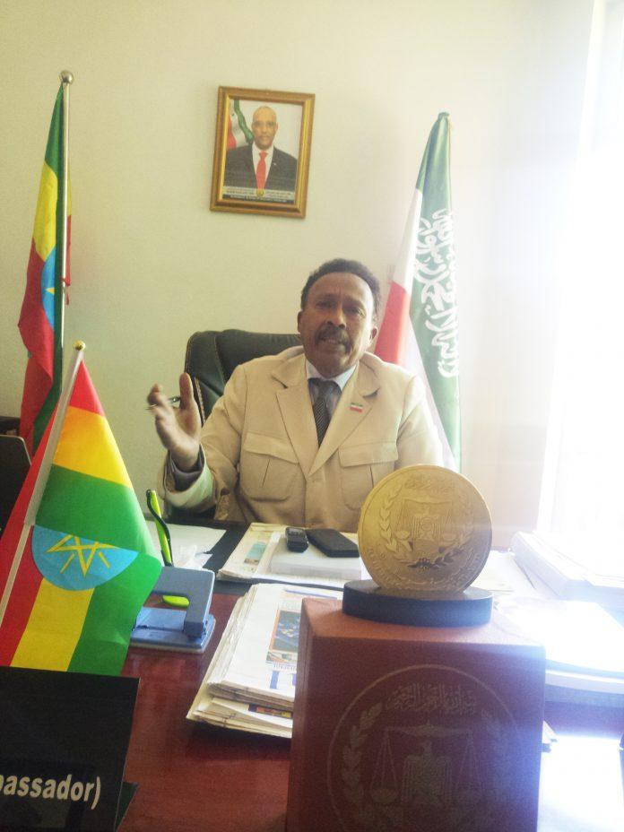 Somaliland representative to Ethiopia Ambassador Ahmed Hassan Aqal