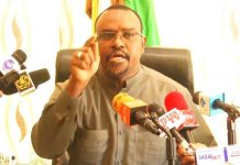 . Saleban Yusuf Ali (Koore), Minister of Water Resources Development of the Republic of Somaliland established high level senior experts panel on January 20, 2019.