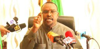 . Saleban Yusuf Ali (Koore), Minister of Water Resources Development of the Republic of Somaliland established high level senior experts panel on January 20, 2019.