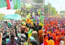 File Photo:Somaliland Presidential 2017 Campaing