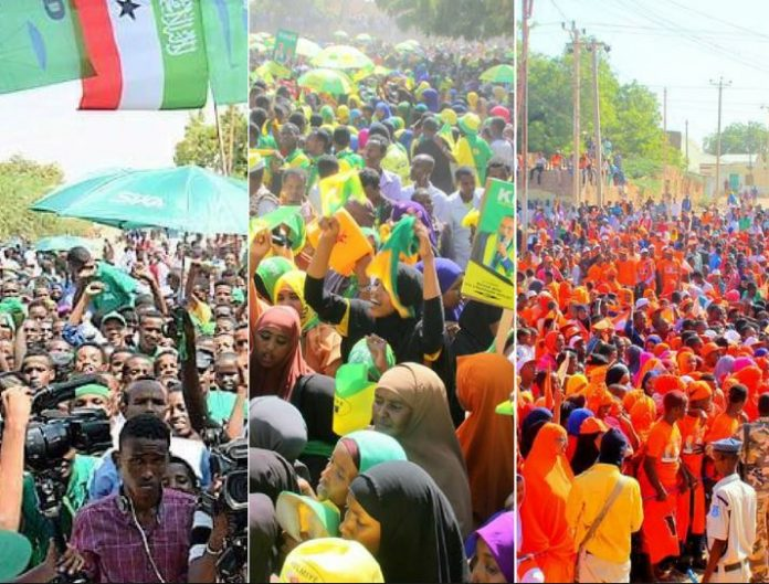 File Photo:Somaliland Presidential 2017 Campaing