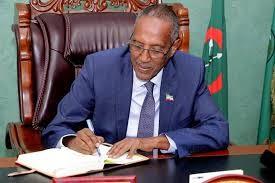 Somaliland president H.E Muse Bihi Abdi
