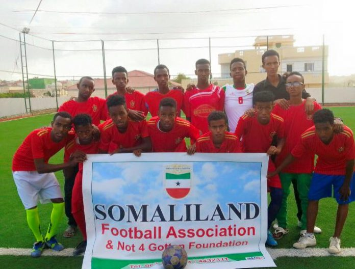 CONIFA SportsBet.io World Football Cup 2020: Somaliland