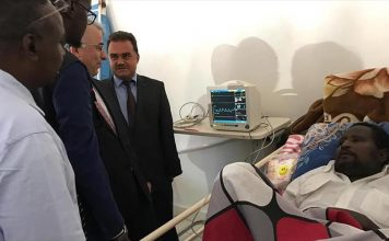 Turkish Cooperation and Coordination Agency donates medical equipment, supplies to hospital
