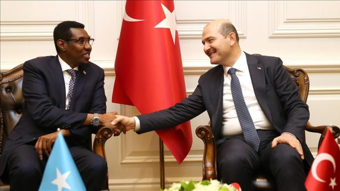Turkey's Interior Minister Suleyman Soylu met with his Somali counterpart on Wednesday in Ankara.