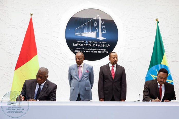 Ethiopia, Guinea Ink Strategic Partnership Agreement