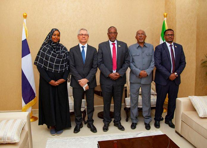 Somaliland President Receives Finland Ambassador to Kenya and Somalia