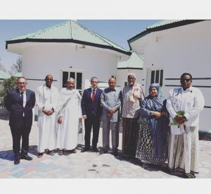 The Turkish envoy also met the Somaliland Main opposition party Waddani chairman Abdirahman Mohamed Abdilahi aka IRRO