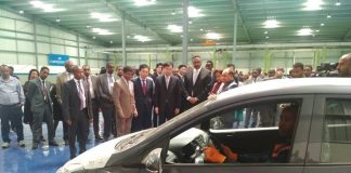 Dr. Workneh Inaugurates Hyundai Marathon Motor Vehicle Assembly Plant
