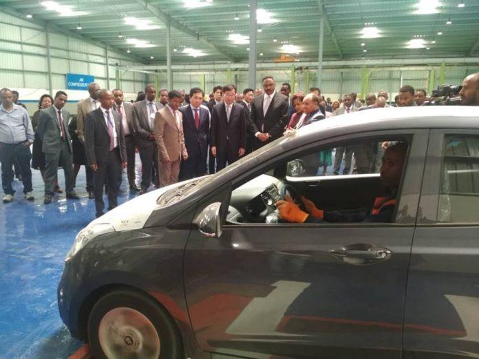 Dr. Workneh Inaugurates Hyundai Marathon Motor Vehicle Assembly Plant