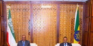Somaliland President Muse Bihi Arrives In Ethiopia