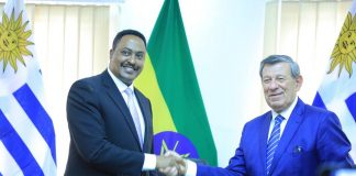 Ethiopia and Uruguay have signed political consultation in a bid to advance bilateral cooperation between the two countries.