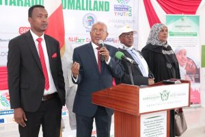 Vice President Abdirahman Abdilahi Ismail has delivered the keynote speech in the opening ceremony