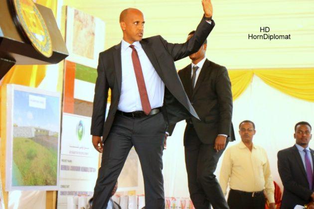 Mustafe Muhumed Omar president of Somali region of Ethiopia