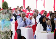 Participants attend United Nations procurement seminar in Hargeisa, 9-10 February 2019. Photo: Ali Jibril