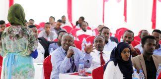 Participants attend United Nations procurement seminar in Hargeisa, 9-10 February 2019. Photo: Ali Jibril