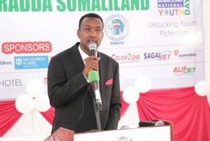 Mr. Abdiaziz Sa'eed Salah, Chairman, SONYO
