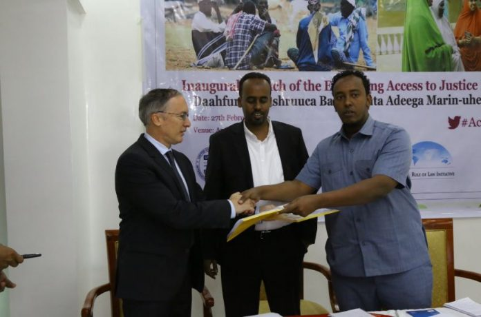 Launch of USAID program to strengthen access to justice and legal aid provision