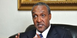 Kenya's Foreign Affairs Permanent Secretary Macharia Kamau. FILE| NATION MEDIA GROUP