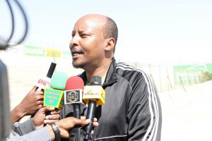 Abdirashid Duale, Dahabshiil Group CEO, was there at the stadium in person.