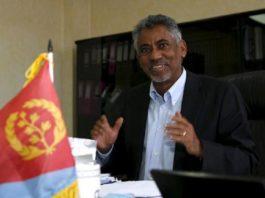 Eritrean Information Minister Yemane G. Meskel