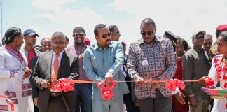 Ethiopian,Kenyan Leaders inaugurates the Debre Birhan Industry Park