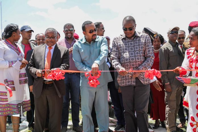 Ethiopian,Kenyan Leaders inaugurates the Debre Birhan Industry Park