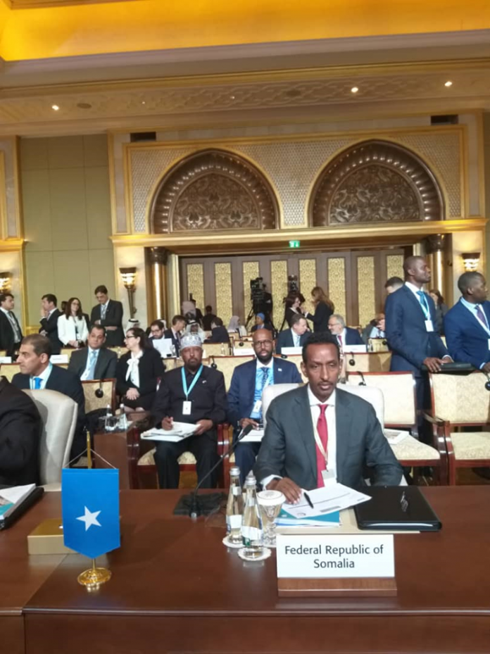 Somalia Foreign Minister Amb. Ahmed Isse Awad calls on OIC Member States to support debt cancellation