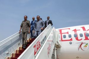 Ethiopian Prime Minister Abiy Ahmed and President Isaias Afwerki have arrived in Juba, South Suda