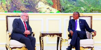 Somaliland President Receives German Chancellor's Personal Representative for Africa