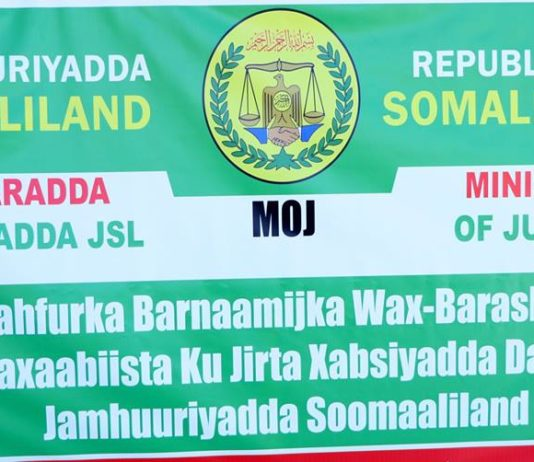 Somaliland initiates educational programmes for in-mates