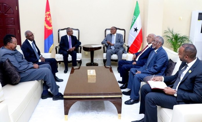 Somaliland,Eritrea vow to strengthen bilateral ties