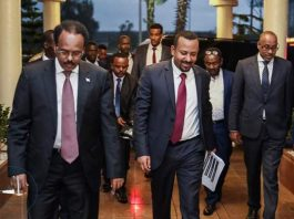 Ethiopia,Somalia leaders en route to Nairobi to meet with President Kenyatta