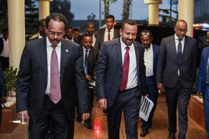 Ethiopia,Somalia leaders en route to Nairobi to meet with President Kenyatta